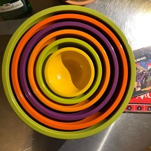Vintage Retro Melamine Mixing Bowls